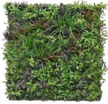 Artificial Green Wall Mixed Mat FR and UV