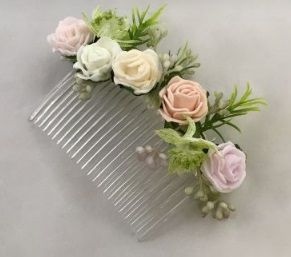 Mixed Flower Comb