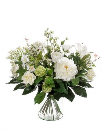 White Dream Flower Bouquet Arrangement