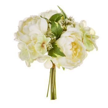 Peony Bouquet with Hydrangea