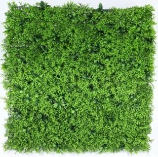 Small Leaf Exterior Green Wall UV