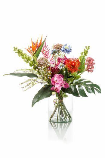 Exotic Mix Flower Bouquet Arrangement