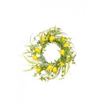 Lemon Foliage Wreath