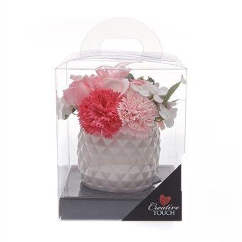 Pineapple Soap Flower complete in Vase