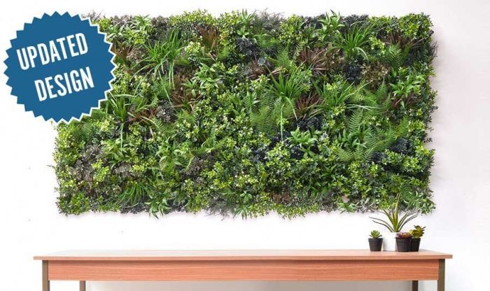 Showing 2 of our artificial Green Wall panels joined, to create a visually pleasing display feature.