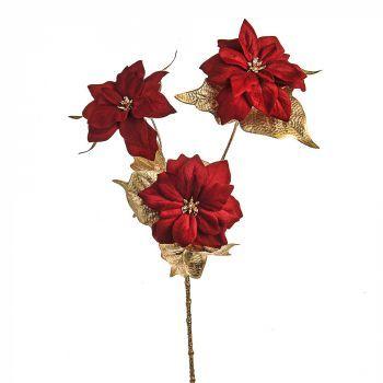 Lavish Poinsettia Stem