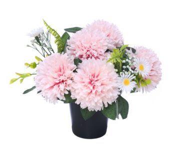 Chrysanthemum/Daisy Cemetery Pot
