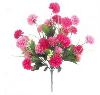 Small Mixed Pompom/Chrysanthemum