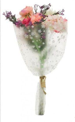 Open Top Egg Plant & Gerbera Bouquet
