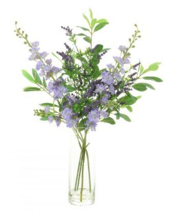Slim Stock & Lavender Arrangement