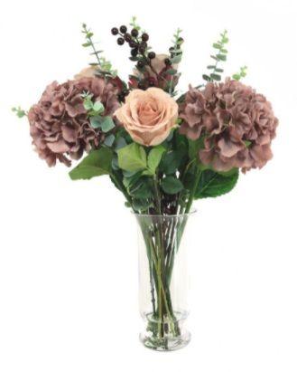 Mixed Hydrangea & Rose Arrangement