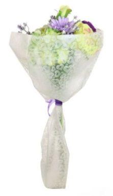 Open Top Mixed Rose Bouquet